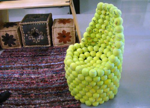 silla tenis1 - Silla de pelotas de tenis