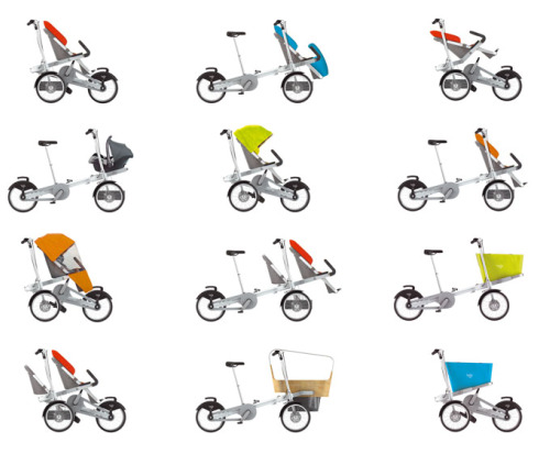 taga options - TAGA: carrito con bicicleta