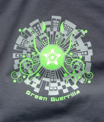 guerrilla2 - Camiseta GREEN GUERRILLA de Mandacarú