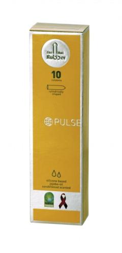 """1632 0 - Preservativo de comercio justo """"Pulse"""" de HOT RUBBER"""
