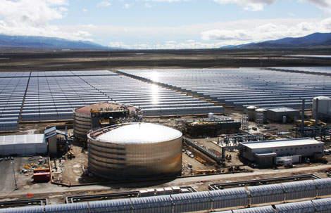 andasol - Nueva planta termosolar en Granada (demandemos políticas sostenibles)