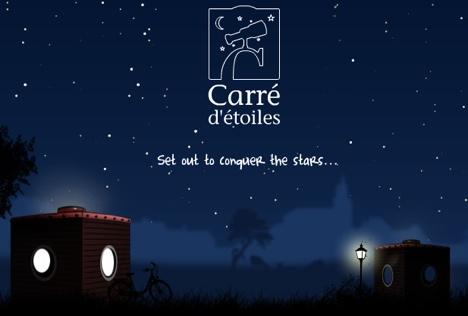 carre etoiles - Casas portátiles Carré d'étoiles: disfruta de las estrellas en libertad