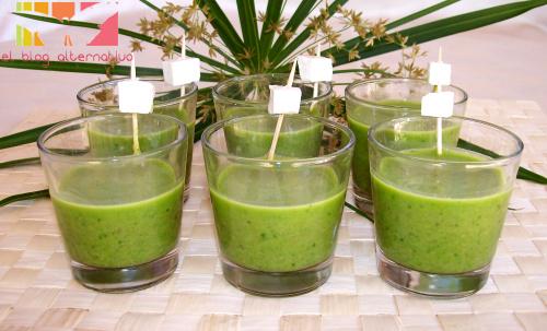 gazpacho verde - Receta de gazpacho verde