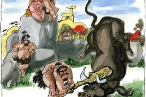 toros mingote1 - Fiestas con toros y arte por Mingote