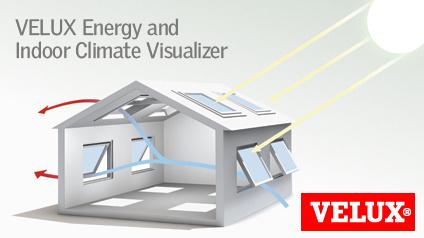 velux energy and indoor climate visualizer - VELUX Energy and Indoor Climate Visualizer: simulador gratuito para ahorrar energía