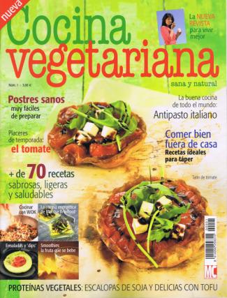 cocina vegetariana - Nueva revista COCINA VEGETARIANA