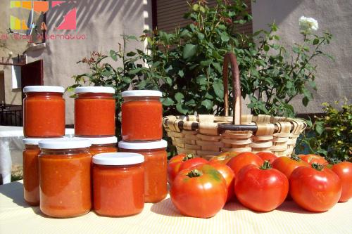 conserva tomate portada - Receta de conserva de tomate frito casero