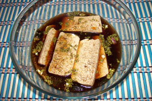 tofu papilote1 - receta tofu macerado en papilote