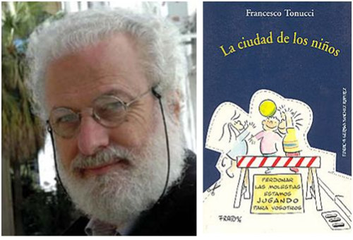 tonucci - SE APRENDE MÁS JUGANDO QUE ESTUDIANDO: entrevista a Francesco Tonucci, niñólogo (1/2)