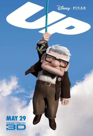 up poster - UP, de Pixar: una película de altura