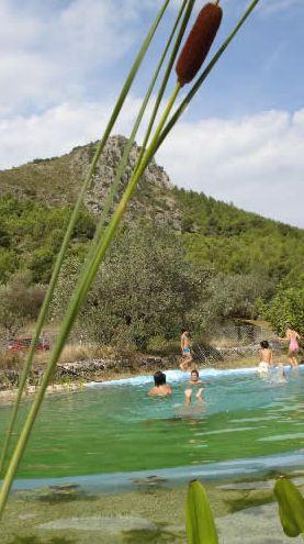 urobia estanque - UROBIA: Parque Ecológico en Orba (Alicante)