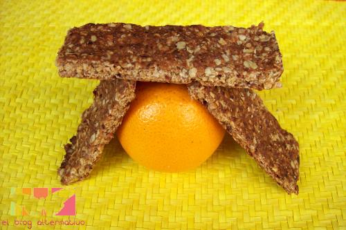 barritas naranja2 - Barritas de naranja, dátiles y avena