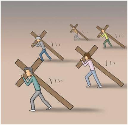 cruz1 - ¿Cómo llevas las cruces de la vida?