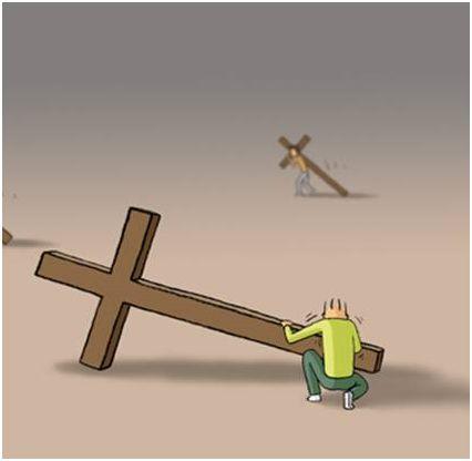 cruz4 - ¿Cómo llevas las cruces de la vida?