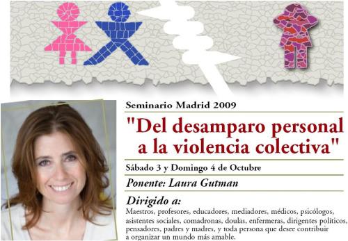 curso laura gutman - curso-laura-gutman madrid 2009