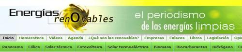 energias renovables - Energías Renovables: el periodismo de las energías limpias