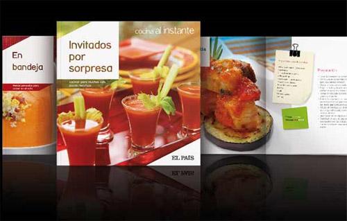 cocina al instante pais - Cocina al instante: colección de 30 libritos de cocina a 1 euro con el periódico El País