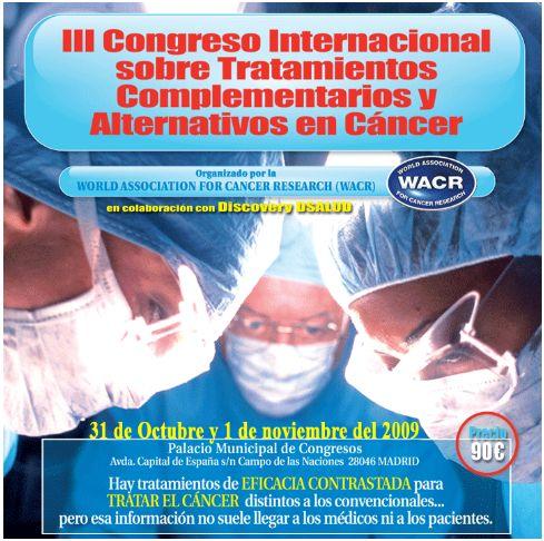 congreso cancer - III congreso internacional cancer discovery salud