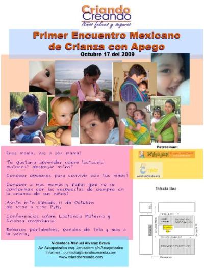 crianza mexico2 - Primer encuentro mexicano de crianza con apego: 17 de octubre del 2009