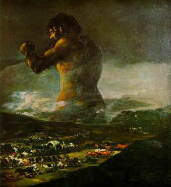 goya coloso - 1000 años de guerras ¿para qué?