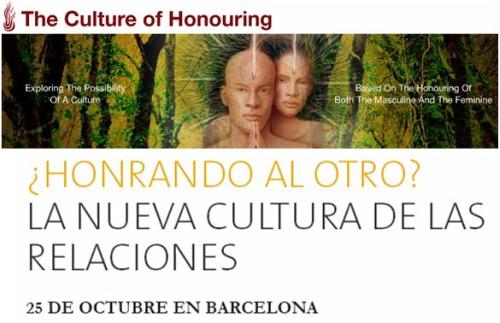 """pareja1 - Barcelona INSPIRA CONSCIENCIA 25 de Octubre del 2009: """"¿Honrando al otro? La nueva cultura de las relaciones"""