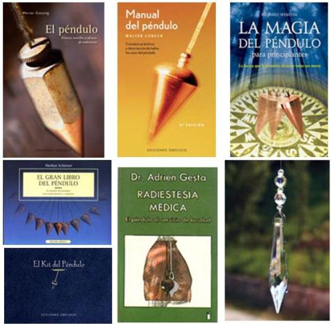 pendulo libros - Libros sobre cómo usar el péndulo (2/2)