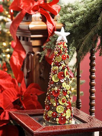 arbolito Navidad botones