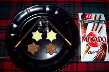 membrillo mikado2 - Delicias de membrillo y queso con Mikados de chocolate