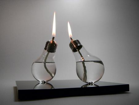 bombillas recicladas