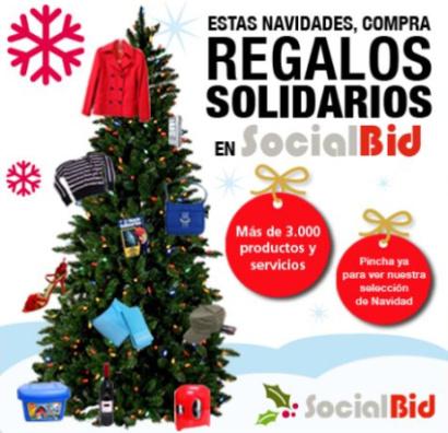 socialbid - Outlet solidario SocialBid: comprar por poco y ayudar mucho