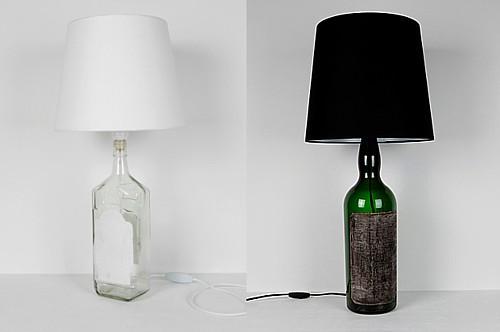 botellas7 - 3 buenas ideas para reutilizar y decorar con botellas