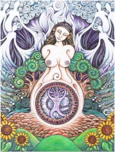 el despertar de la diosa