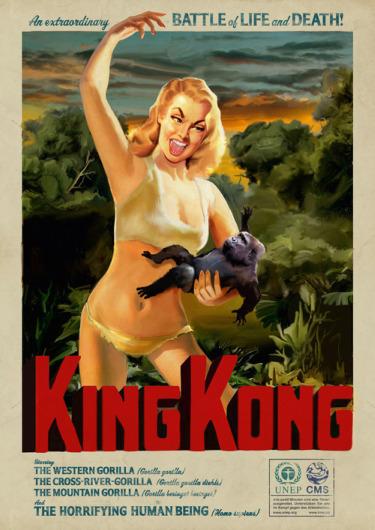 king kong1 - Cuando los humanos son los monstruos para los animales