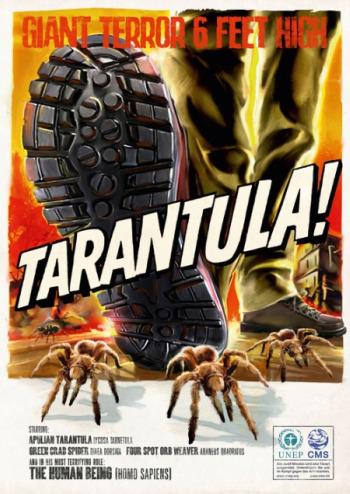 monstruos3 - humanos monstruos tarantula