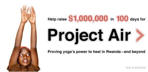 air - YOGA para superar el trauma de la violencia y los genocidios: la gran labor de Project Air