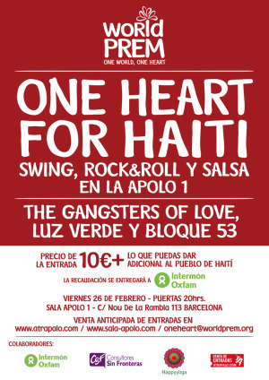 one heart for haiti