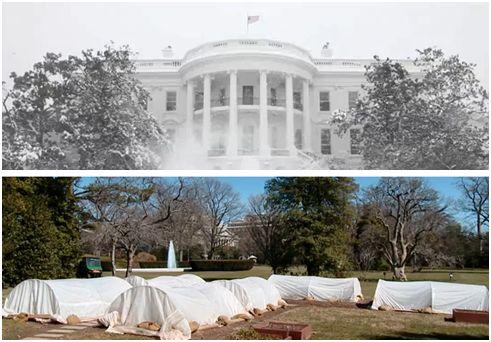 casa blanca - casa-blanca huerta invierno