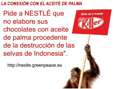 kit-kat nestle greenpeace