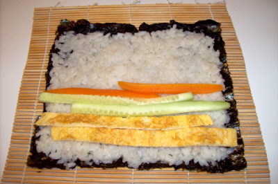 shushi3 - Receta de sushi vegetariano y vegano