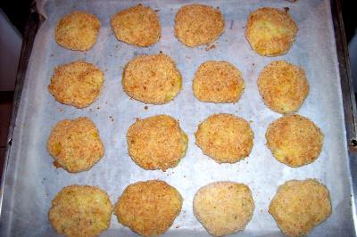 delicias de patata, puerros y queso