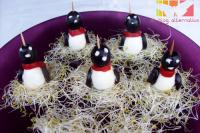 pinguinos 200 - 10 aperitivos vegetarianos para sorprender a los invitados