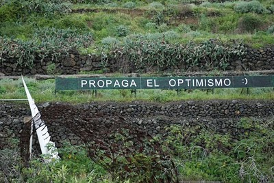 propaga el optimismo