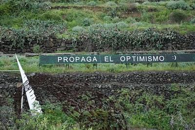 propaga el optimismo - Anoniman, gracias por tus mensajes
