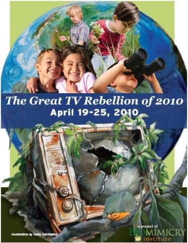 sin tele - La Gran Rebelión contra la Televisión 2010: salgamos a la Naturaleza