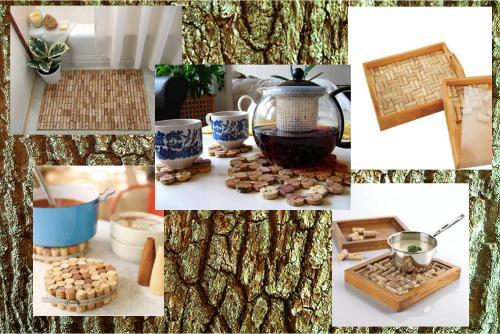 corcho - Ideas para decorar con corchos