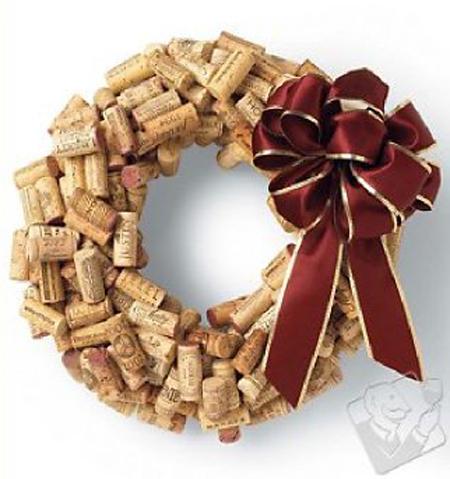 coronas navidenas recicladas - coronas-navidenas-recicladas