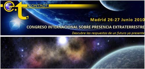 ets - congreso extraterrestres Madrid