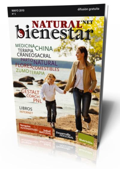 portada mayo 3d - Revista bienestarNATURAL nº 5
