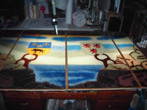 vidrio reciclado2 - Arte en vidrio reciclado de Agustín Aguirre