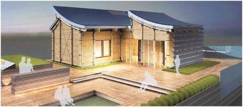 bambu - VILLA SOLAR 2010: concurso de casas solares en Madrid y numerosas actividades divulgativas